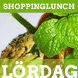 Lunch på lördagar i Uppsala - Shoppinglunch